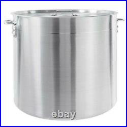 100 Qt Heavy Duty Aluminum Stock Pot Lid Commercial NSF Soup Brewing Kettle New