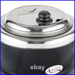2 PACK Avantco 14 Qt Black Electric Soup Kettle Warmer Commercial Restaurant