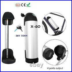 36V 10Ah 250W 350W Lithium Li-ion Kettle Battery f Electric Bicycle E-bike Motor