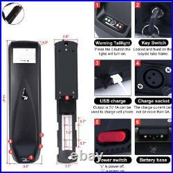 36V 48V 52V Lithium Battery for 200W-1500W Electric Bike Shark/Kettle/Rear Rack