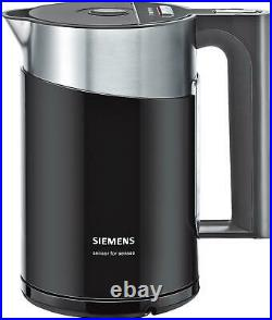 4242003682661 Siemens TW86103P electric kettle 1.5 L 2400 W Black, Stainless ste