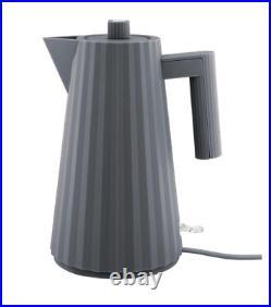 ALESSI Plissé Grey Electric Kettle MDL06 G