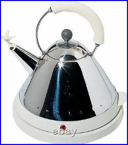 Alessi MG32 WithUK Electric kettle White
