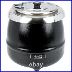 Avantco 11 Qt Black Electric Food Soup Kettle Warmer Commercial Restaurant NEW