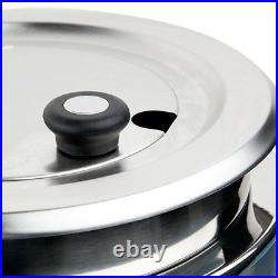 Avantco 11 Qt Stainless Steel Soup Kettle Warmer Commercial Restaurant Buffet