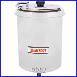 Avantco 6 Qt Stainless Steel Soup Kettle Warmer Commercial Nacho Cheese #10 Can