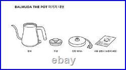 BALMUDA The POT Electric Kettle K02B-BK Black 220V 50/60Hz Korean Ver. / FEDEX