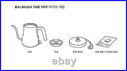 BALMUDA The POT Electric Kettle K02B-WH Whate 220V 50/60Hz Korean Ver. / FEDEX