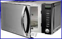 BLACK Aigostar Toaster Glass Kettle VYTRONIX Microwave & Storage Kitchen Set