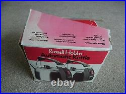 BOXED Vintage Retro Russell Hobbs Automatic K2P Kettle VERY RARE NEVER USED COND