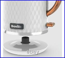 BREVILLE Curve VKT018 Jug Kettle White & Rose Gold