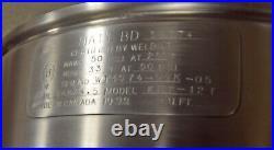 Cleveland KET12T 12 Gallon Tilting 2/3 Steam Jacketed Tabletop Kettle 240V