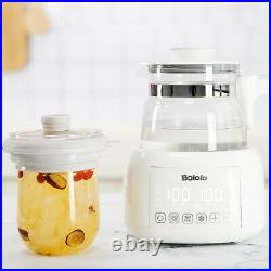 Constant Temperature Kettle Baby Adjuster Warm Milk Automatic Brewing Glass Pot