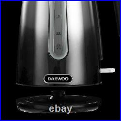 DAEWOO Ombre Effect Kettle Toaster Tower Canisters & VYTRONIX Microwave Set UK
