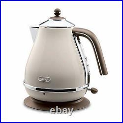 Delonghi Electric kettle 1.0L ICONA Vintage Collection KBOV1200J-BG Dolce Beige