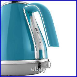 Delonghi Icona Capitals Kettle Electric Cordless 1.7L Fast Boil Jug Lisbon Azure