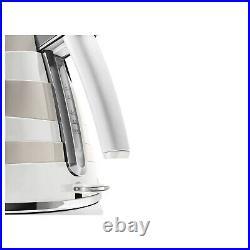 Delonghi KBAC3001. W Avvolta Kettle White & Cream