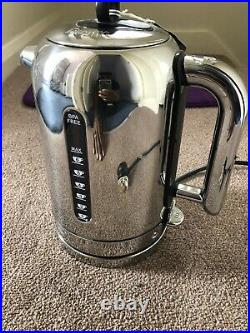 Dualit Classic Kettle 1.7L 3kw 72815 Luxury Polished Stainless Steel