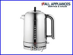 Dualit Classic Kettle CVJK1 Polished Stainless Steel with 2 yr wty IN HEIDELBERG