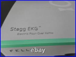 Fellow Stagg EKG 1200W Cordless Electric Kettle Matte Black NOB