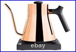 Fellow Stagg EKG Electric Gooseneck Kettle Pour-Over Coffee and Tea Pot Copper