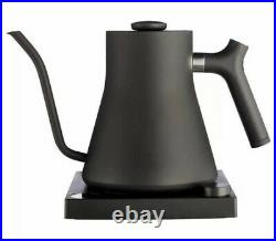 Fellow Stagg EKG Electric Pour-Over Kettle Matte Black 0.9 Liters With LCD Display