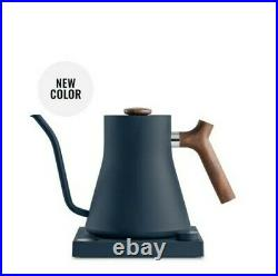 Fellow Stagg EKG Electric Pour-Over Kettle NEW COLOR Stone Blue + Maple