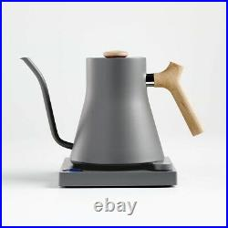 Fellow Stagg EKG Matte Grey Electric Pour-Over Kettle with Maple Handle(New)