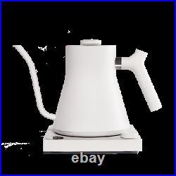 Fellow Stagg EKG UK PLUG Electric Kettle Coffee and Tea WHITE