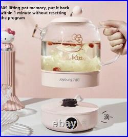 Hello Kitty Electric Kettle Glass 220V Tea Pot Boiler Cooker Stainless Steel
