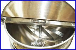 INTBUYING Electric Commercial Cooking Jacketed Kettle 26.5 Gallon Capacity New