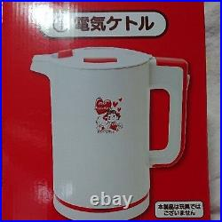 Ichiban Kuji Peco chan x Hello kitty Electric kettle Sanrio NEW F/S JAPAN