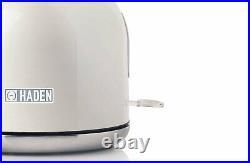 KETTLE & 4 Slice Toaster Set Ivory White Heritage Farmhouse Style 3Kw 1.7L New