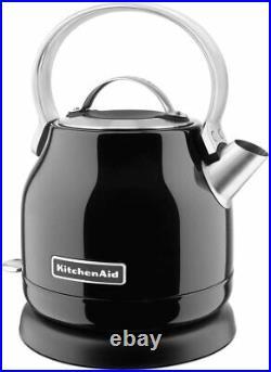 KITCHENAID 5KEK1222BOB Traditional Kettle-Onyx Black- Brand New