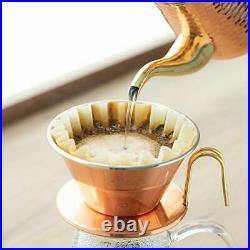Kalita Tea Coffee Kettle Copper Pot 0.7L 700ml Hinge Drip Only #52019 JAPAN NEW