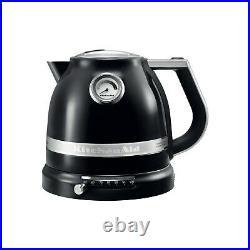 KitchenAid 5KEK1522BOB Artisan 1.5L Traditional Kettle Onyx Black