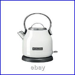 KitchenAid Classic 5KEK1222BWH 1.25L Traditional Kettle White