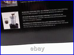 KitchenAid KEK1322SS Electric Glass Tea Kettle, 1.5 L, Stainless Steel