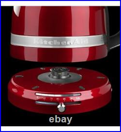 KitchenAid Pro Line Electric Water Boiler/Tea Kettle Candy Apple Red