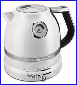 KitchenAid Pro Line Electric Water Boiler/Tea Kettle Frosted Pearl