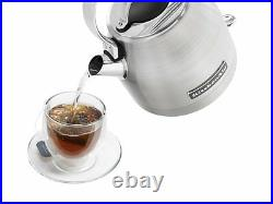 KitchenAid Stainless Steel Electric Water Tea Kettle Removable Base KEK1222SX