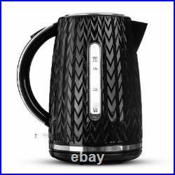 LIVIVO Electric Kettle Fast Boil Jug 3000W 1.7L BPA Free 360 Rotational Portable