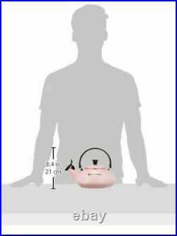 Le Creuset Kettle Zen Pink 1.6L Enamel Kettle Ih Corresponding 920096-00-19