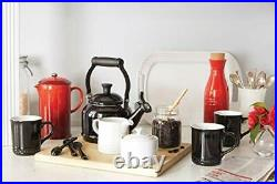 Le Creuset Zen Stove-Top Kettle with Whistle, Suitable for All Hob Types