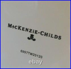 Mackenzie-child's White Flower Market Whistling Tea Kettle, New