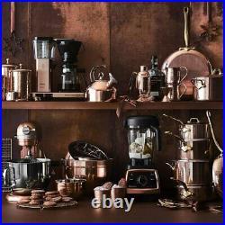 Mauviel Room Service Copper Collection Kettle Tea & Coffee Teapot 3.3 Liter 21cm