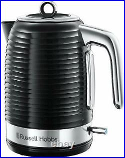 Microwave Kettle Toaster Set Black Russell Hobbs RHRETMM705B Cheap Buy Sale Deal