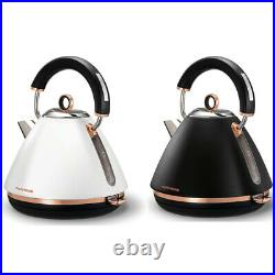 Morphy Richards 1.5L Accents Traditional Pyramid Kettle/Jug Rose Gold Boiler