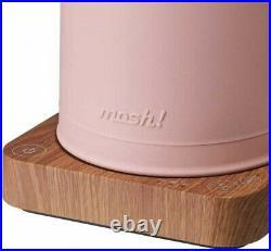 Mosh M-EK1 Milk Tank Style Electric Kettle Pink Retro Atmosphere Fast Ship Japan
