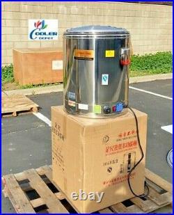 NEW 80L Commercial Electric Soup Stew Kettle Pot Warmer Restaurant Buffet 220V
